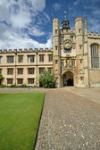 Jezus college quadrangle — Stockfoto