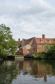 Flatford mill en retrato — Foto de Stock
