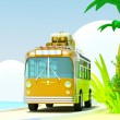 Tropical adventure by bus — Stock Photo #11760568