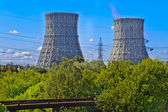 Cooling towers — Stock Photo