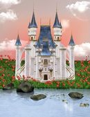 Dream castle — Stock Photo