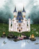Enchanted castle — Foto Stock
