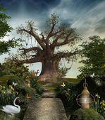 Fabulous garden — Stock Photo