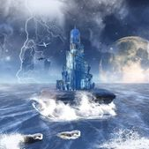 Fantasy seascape — Stock Photo