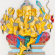 Stock Photo: Indior Hindu God Named DuragGanapati