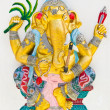 Indian or Hindu God Named Yoga Ganapati - Stock Photo