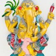Stock Photo: Indior Hindu God Named YogGanapati