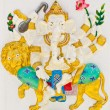 Stock Photo: Indior Hindu God Named SinghGanapati