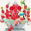 Stock Photo: Indior Hindu God Named UddandGanapati