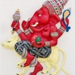 Indian or Hindu God Named Sarisati Ganapati - Stock Photo