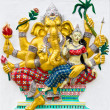 Indior Hindu God Named UdhawGanapati — Stockfoto #11262559