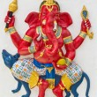Indian or Hindu God Named Vijaya Ganapati - Zdjęcie stockowe