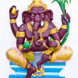 Stock Photo: Indior Hindu ganeshGod Named BalGanapati