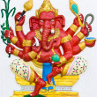 Stock Photo: Indior Hindu ganeshGod Named TarunGanapati