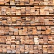Stack of wood logs — Stock Photo