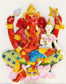 Indian or Hindu God Sankatahara Ganapati — Stock Photo