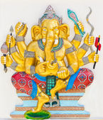 Indian or Hindu God Named Duraga Ganapati — Stock Photo