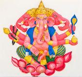 Indian or Hindu God Named Trimukha Ganapati — Stock Photo