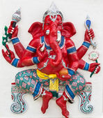 Indian or Hindu God Named Kasipa Porasada Ganapati — Stock Photo