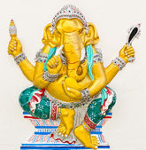 Indian or Hindu God Named Triaksara Ganapati — Stock Photo