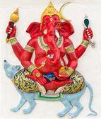 Indian or Hindu God Named Ekaksara Ganapati — Stock Photo
