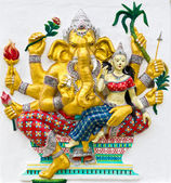 Indian or Hindu God Named Udhawa Ganapati — Stock Photo