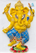 Indian or Hindu God Named Naritaya Ganapati — Stock fotografie