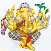Indian or Hindu ganesha God Named Vighna Ganapati — Stock Photo