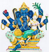 Indian or Hindu ganesha God Named Uchchishta Ganapati — Stock Photo
