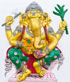 Indian or Hindu ganesha God Named Siddhi Ganapati — Stock Photo