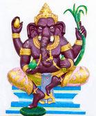 Indian or Hindu ganesha God Named Bala Ganapati — Stock Photo