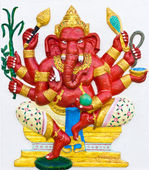 Indian or Hindu ganesha God Named Taruna Ganapati — Stock Photo