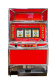 Vintage slot machine — Stock Photo