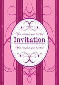 Invitation 3 — Stock Vector