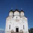 Luzhetsky monastery. Church of the Nativity of the Blessed Virgin Mary. Mozhaisk — Stock Photo