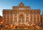 Trevi Fountain, Rome - Italy — Stock Photo