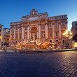 Trevi Fountain, Rome - Italy — Stock Photo #10761226