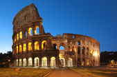 Coliseum at night, Rome - Italy — Stock Photo