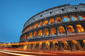 Colosseum at night, Rome - Italy — Stock Photo