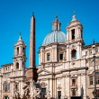 Sant'Agnese in Agnone, ROME - ITALY — Stock Photo