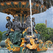 Fountain in Paris — Stock Photo