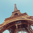 Eiffel Tower, Paris - France - Stock Photo