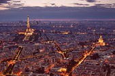 Paris skyline — Stock Photo