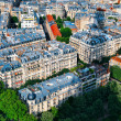 Apartments in Paris - Stock Photo