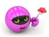 Czerwony zabawka — Zdjęcie stockowe