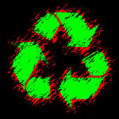 Eco symbol — Stock Photo