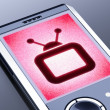TV symbol — Stock Photo