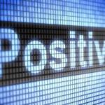 Positive — Stock Photo