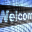 Welcome — Stock Photo #11295922