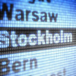 Stockholm — Stock Photo #11301206
